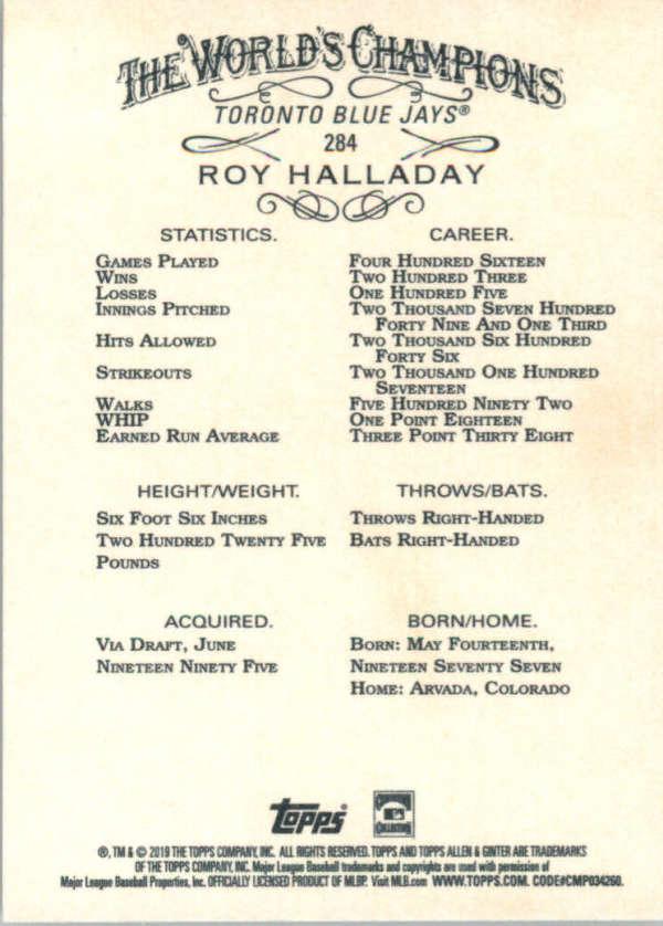 thumbnail 157 - 2019 Topps Allen & Ginter Baseball Gold Hot Box - Pick A Player - Cards 201-400