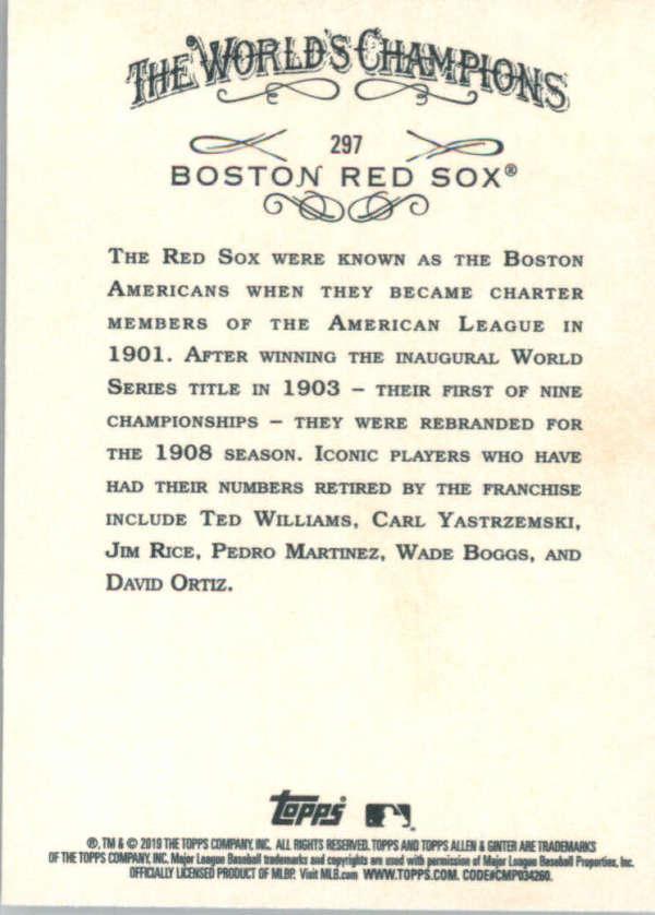 thumbnail 182 - 2019 Topps Allen & Ginter Baseball Gold Hot Box - Pick A Player - Cards 201-400