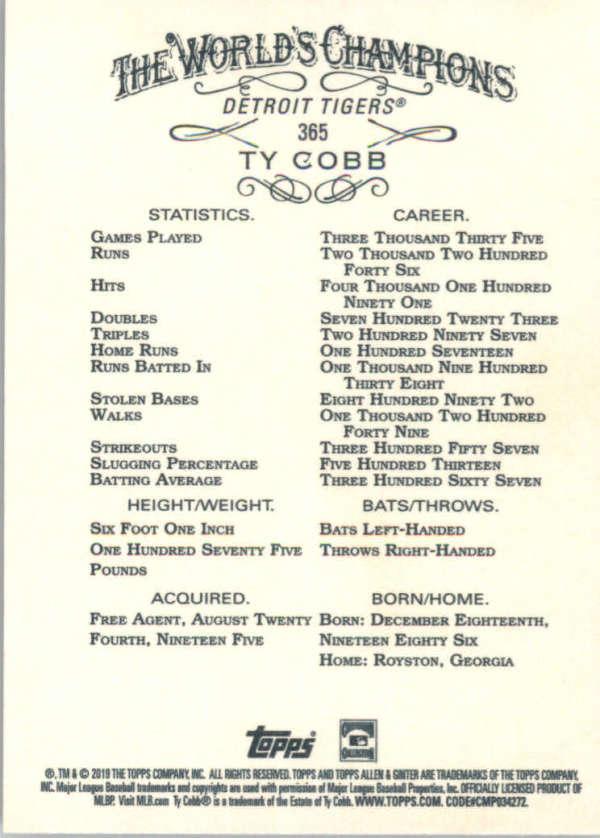 thumbnail 213 - 2019 Topps Allen & Ginter Baseball Gold Hot Box - Pick A Player - Cards 201-400