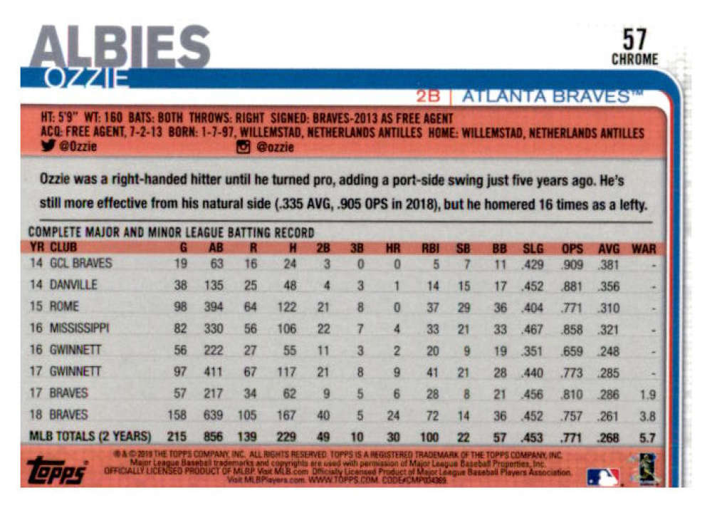 2019-Topps-Chrome-Baseball-Singles-1-204-YOU-PICK-FROM-LIST-VLAD-TATIS-ALONSO thumbnail 116