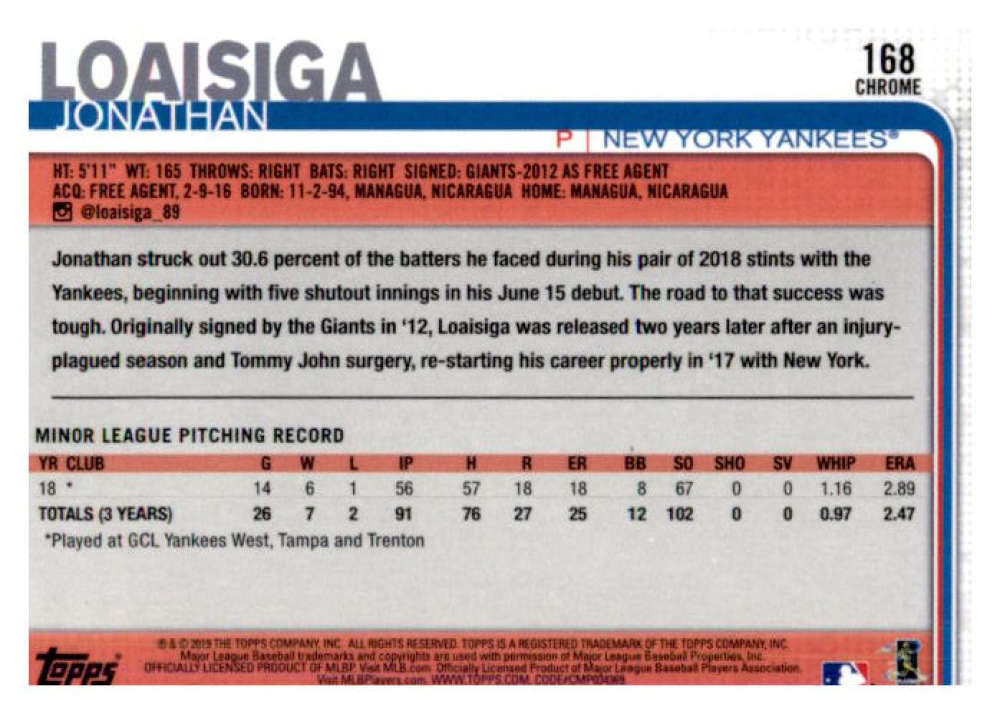 2019-Topps-Chrome-Baseball-Singles-1-204-YOU-PICK-FROM-LIST-VLAD-TATIS-ALONSO thumbnail 336