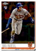 2019 Topps Chrome #152 Jeff McNeil NM-MT RC Rookie New York Mets