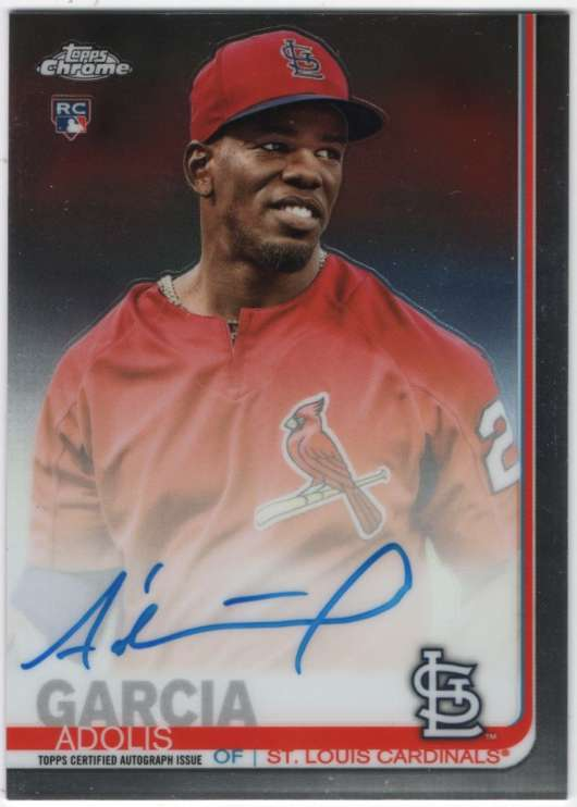 2019 Topps Chrome Rookie Autographs