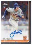 2019 Topps Chrome Rookie Autographs #RA-JM Jeff McNeil NM-MT Auto New York Mets