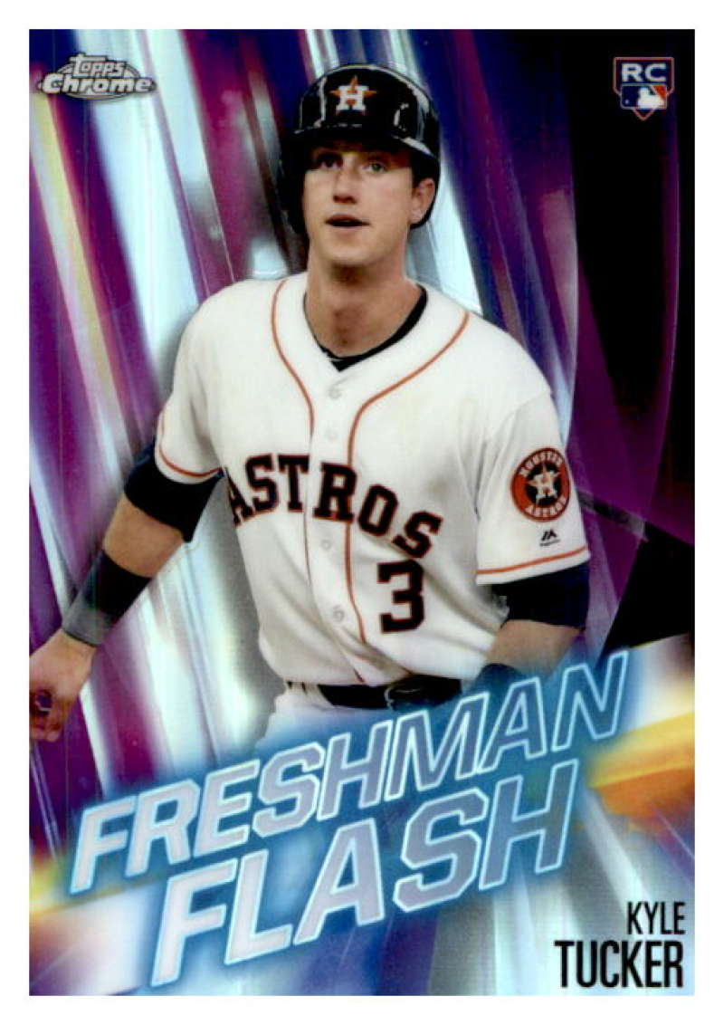 2019 Topps Chrome Freshman Flash Refractors