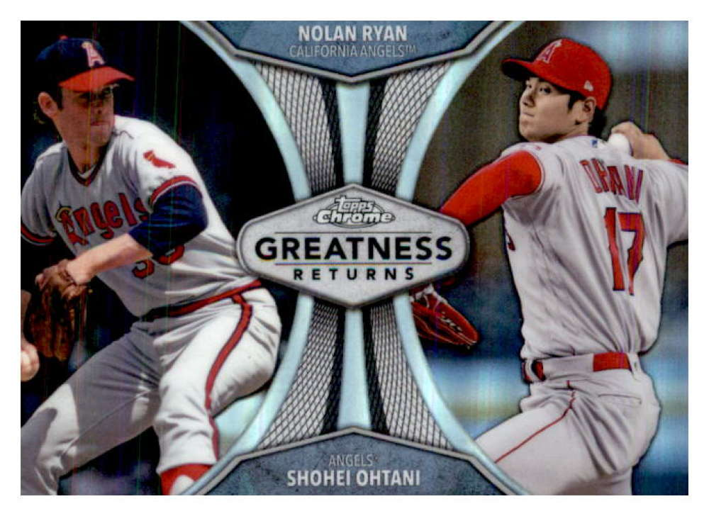 2019 Topps Chrome Greatness Returns Refractors