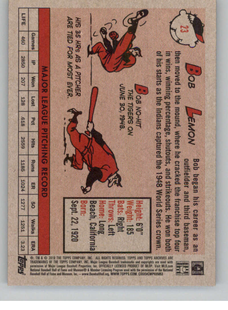 2019-Topps-Archives-Baseball-Singles-1-150-YOU-PICK-FROM-LIST miniature 47