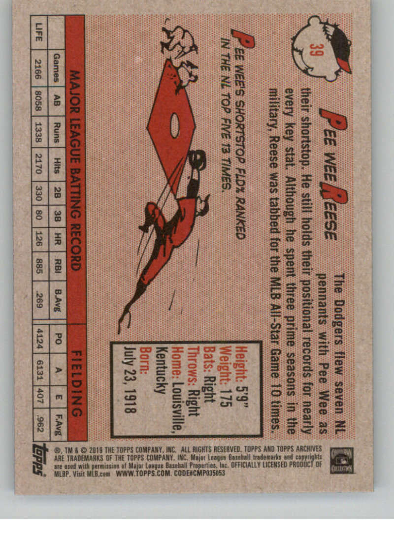 2019-Topps-Archives-Baseball-Singles-1-150-YOU-PICK-FROM-LIST miniature 77