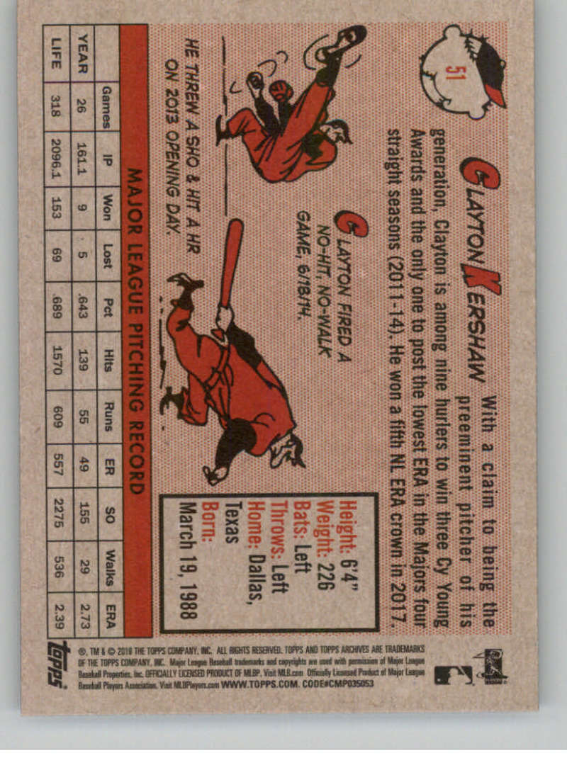 2019-Topps-Archives-Baseball-Singles-1-150-YOU-PICK-FROM-LIST miniature 101