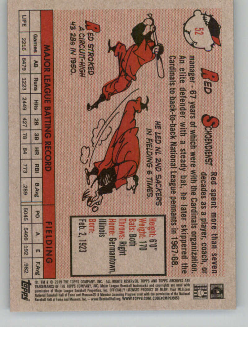 2019-Topps-Archives-Baseball-Singles-1-150-YOU-PICK-FROM-LIST miniature 103