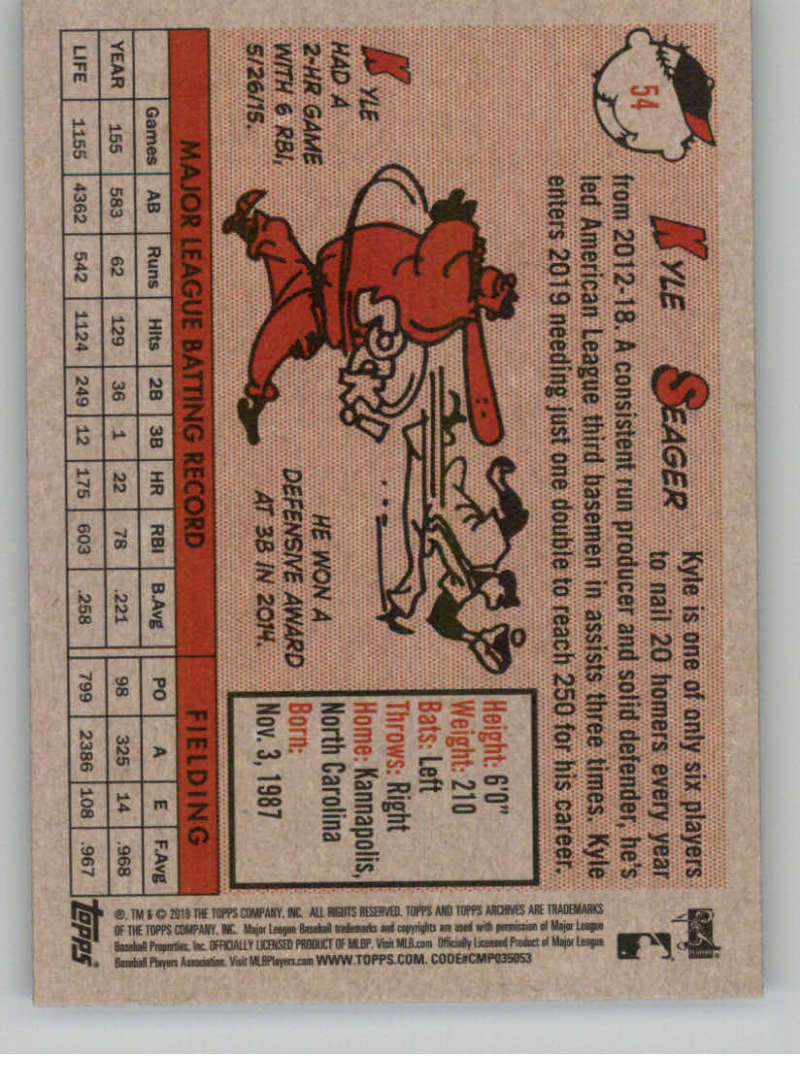 2019-Topps-Archives-Baseball-Singles-1-150-YOU-PICK-FROM-LIST miniature 107