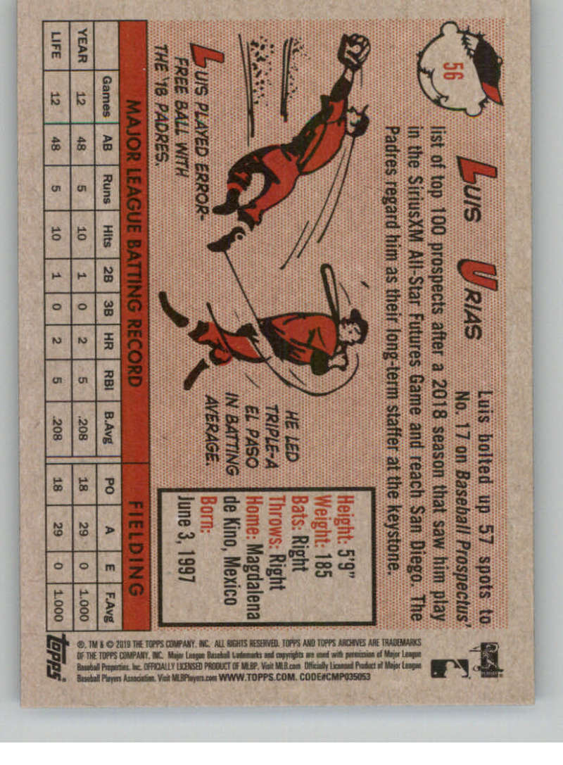 2019-Topps-Archives-Baseball-Singles-1-150-YOU-PICK-FROM-LIST miniature 111