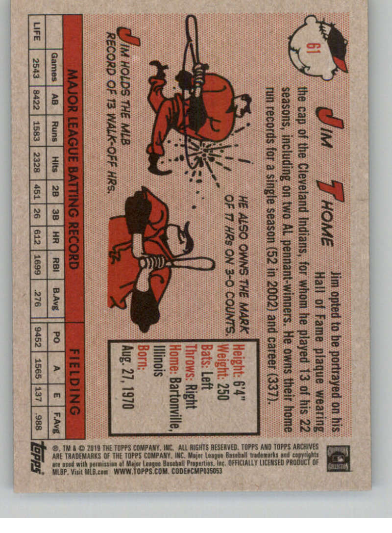 2019-Topps-Archives-Baseball-Singles-1-150-YOU-PICK-FROM-LIST miniature 121