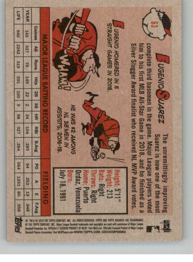2019-Topps-Archives-Baseball-Singles-1-150-YOU-PICK-FROM-LIST miniature 125
