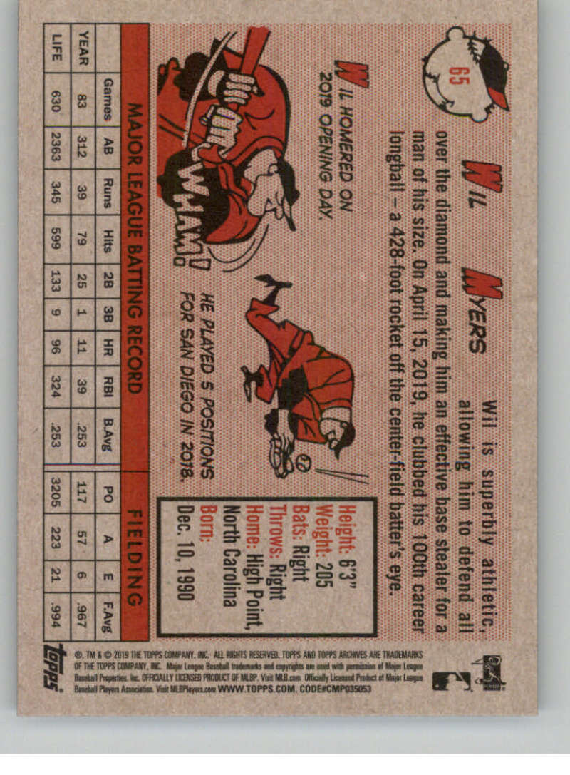 2019-Topps-Archives-Baseball-Singles-1-150-YOU-PICK-FROM-LIST miniature 129