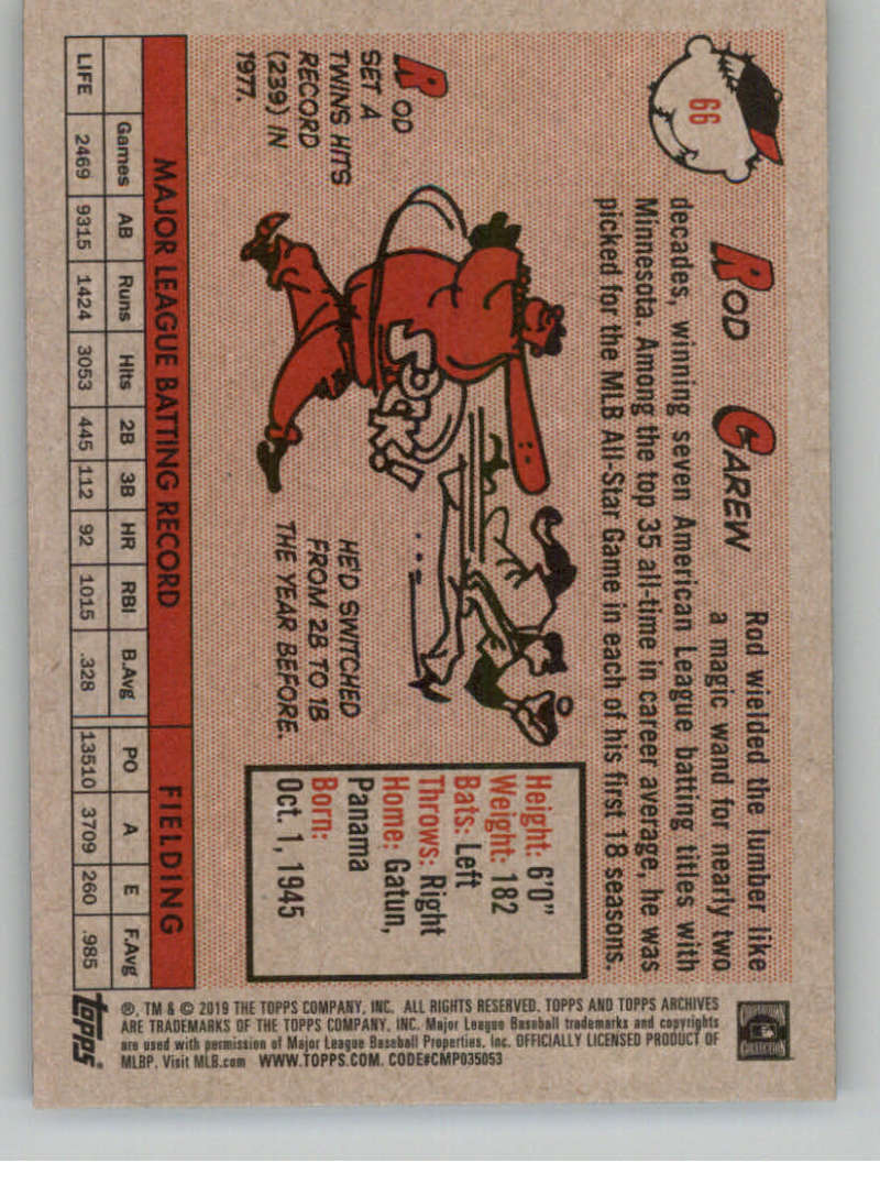 2019-Topps-Archives-Baseball-Singles-1-150-YOU-PICK-FROM-LIST miniature 131