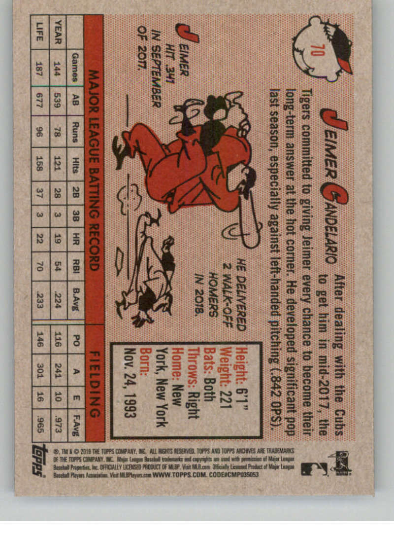 2019-Topps-Archives-Baseball-Singles-1-150-YOU-PICK-FROM-LIST miniature 139