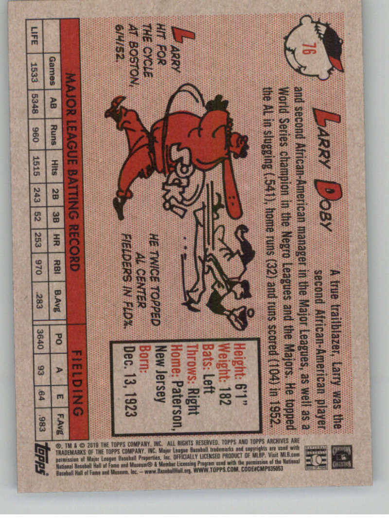 2019-Topps-Archives-Baseball-Singles-1-150-YOU-PICK-FROM-LIST miniature 151