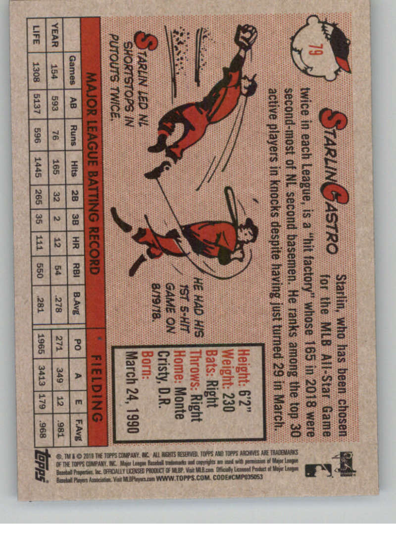 2019-Topps-Archives-Baseball-Singles-1-150-YOU-PICK-FROM-LIST miniature 157