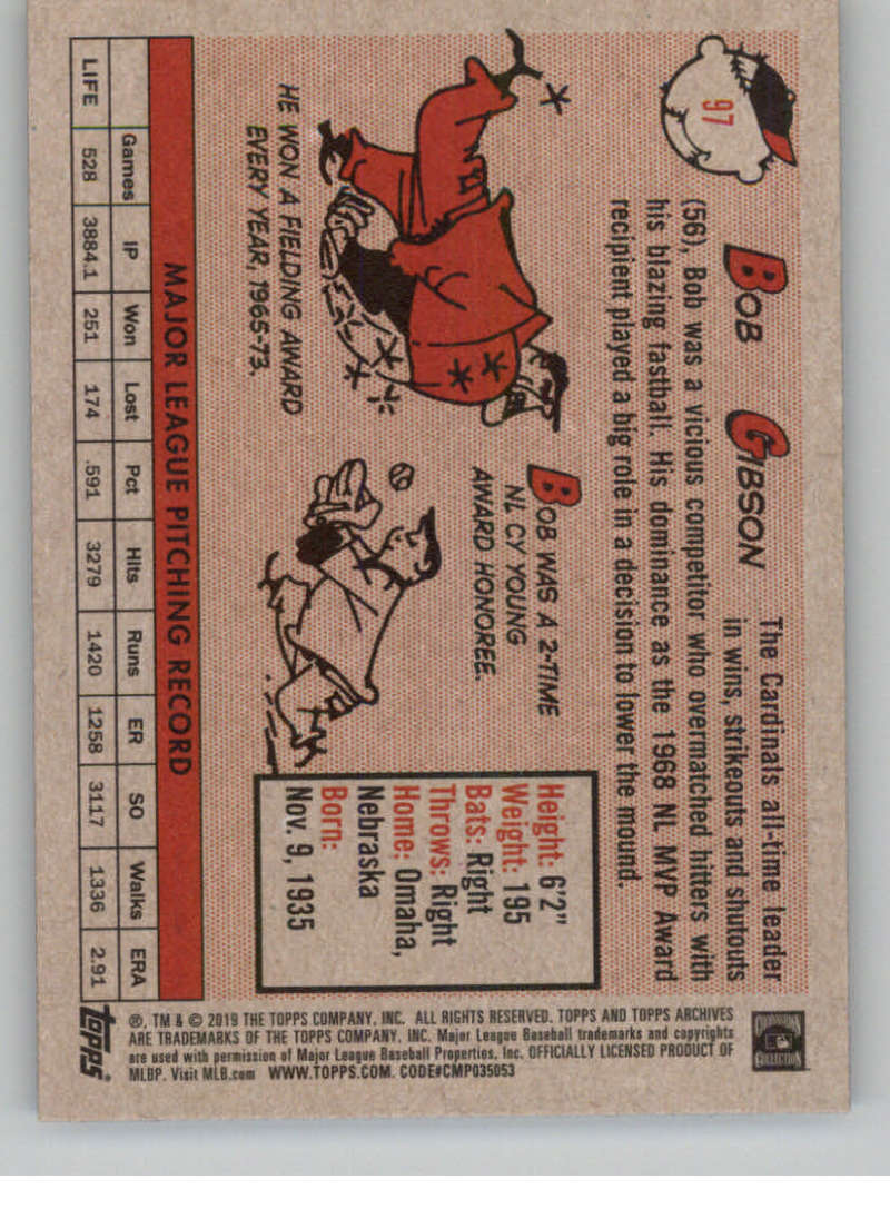 2019-Topps-Archives-Baseball-Singles-1-150-YOU-PICK-FROM-LIST miniature 193