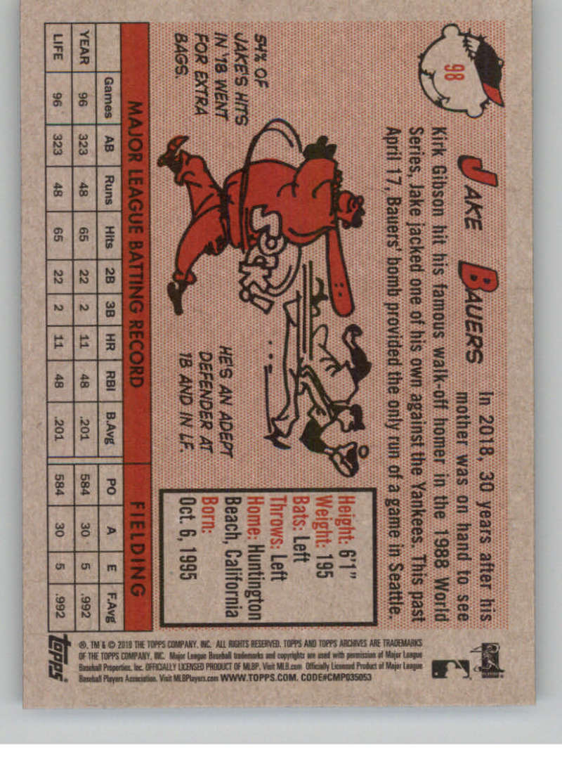 2019-Topps-Archives-Baseball-Singles-1-150-YOU-PICK-FROM-LIST miniature 195