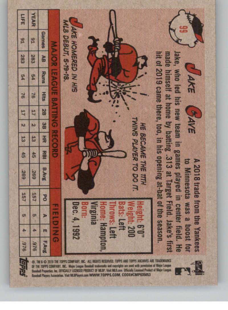 2019-Topps-Archives-Baseball-Singles-1-150-YOU-PICK-FROM-LIST miniature 197