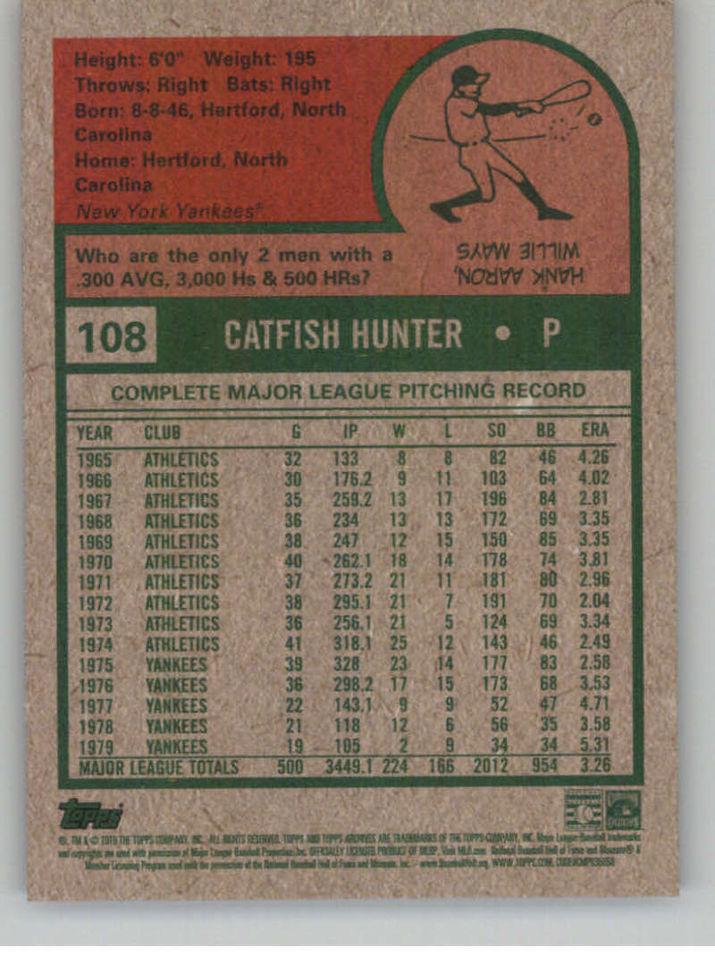 2019-Topps-Archives-Baseball-Singles-1-150-YOU-PICK-FROM-LIST miniature 215