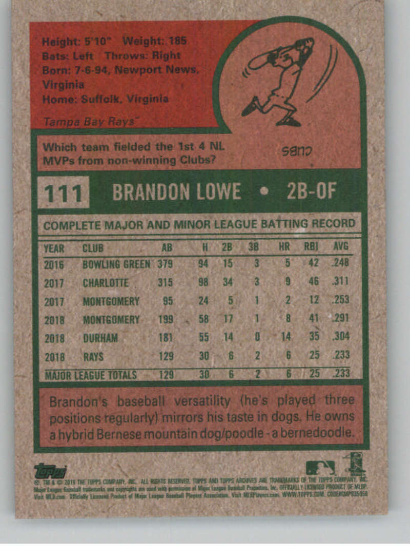 2019-Topps-Archives-Baseball-Singles-1-150-YOU-PICK-FROM-LIST miniature 221