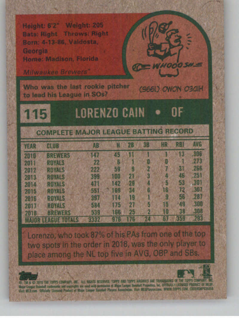 2019-Topps-Archives-Baseball-Singles-1-150-YOU-PICK-FROM-LIST miniature 229