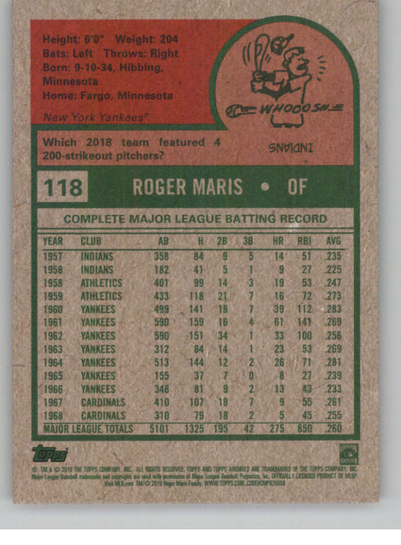2019-Topps-Archives-Baseball-Singles-1-150-YOU-PICK-FROM-LIST miniature 235