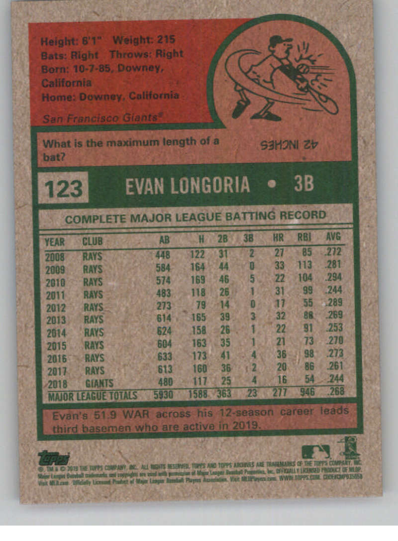 2019-Topps-Archives-Baseball-Singles-1-150-YOU-PICK-FROM-LIST miniature 245