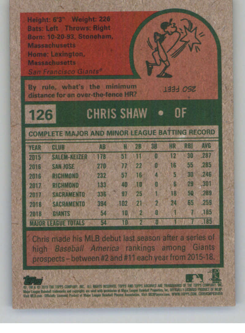 2019-Topps-Archives-Baseball-Singles-1-150-YOU-PICK-FROM-LIST miniature 251