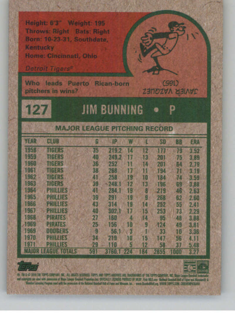 2019-Topps-Archives-Baseball-Singles-1-150-YOU-PICK-FROM-LIST miniature 253