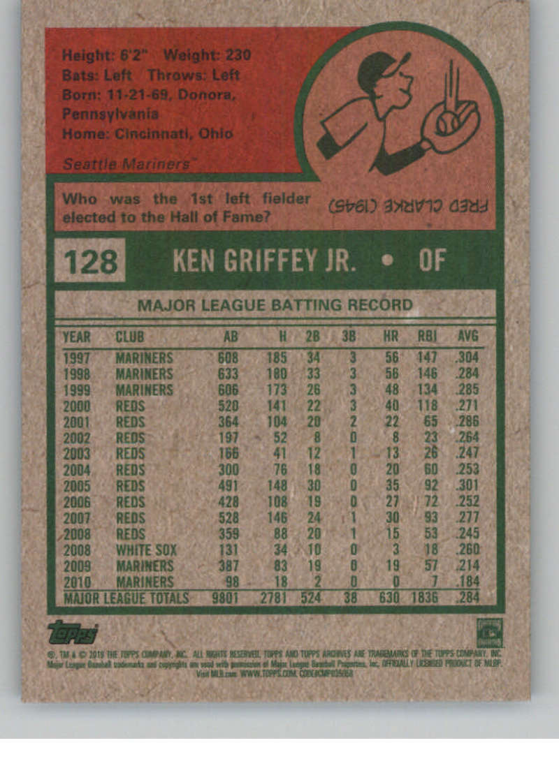 2019-Topps-Archives-Baseball-Singles-1-150-YOU-PICK-FROM-LIST miniature 255