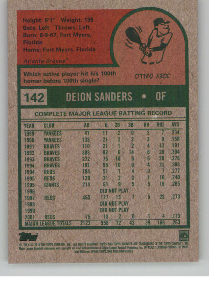 2019-Topps-Archives-Baseball-Singles-1-150-YOU-PICK-FROM-LIST miniature 283