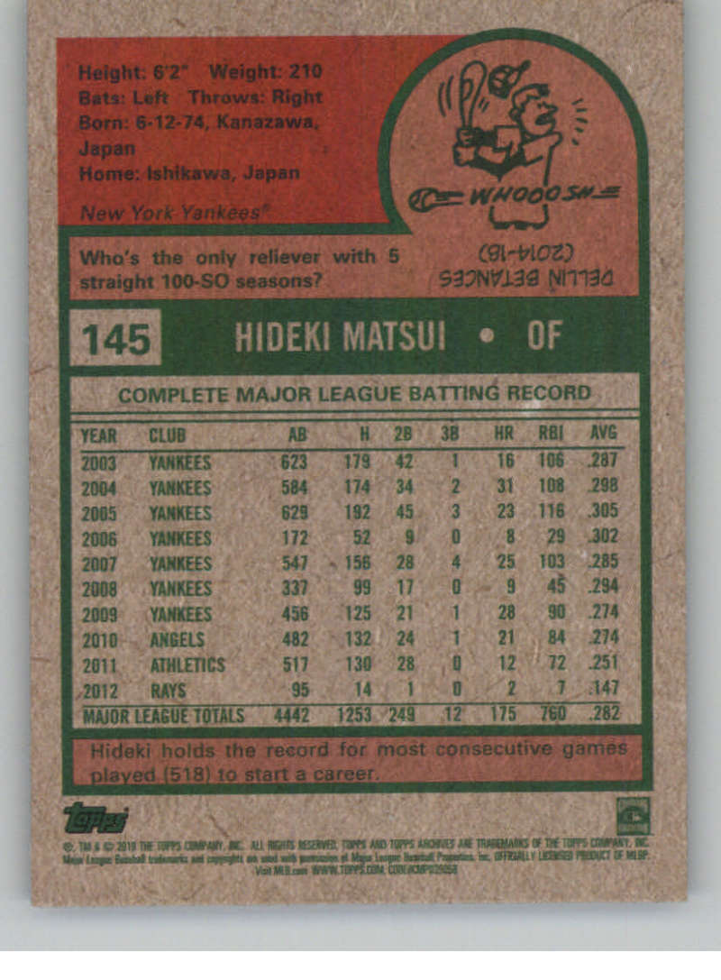 2019-Topps-Archives-Baseball-Singles-1-150-YOU-PICK-FROM-LIST miniature 289