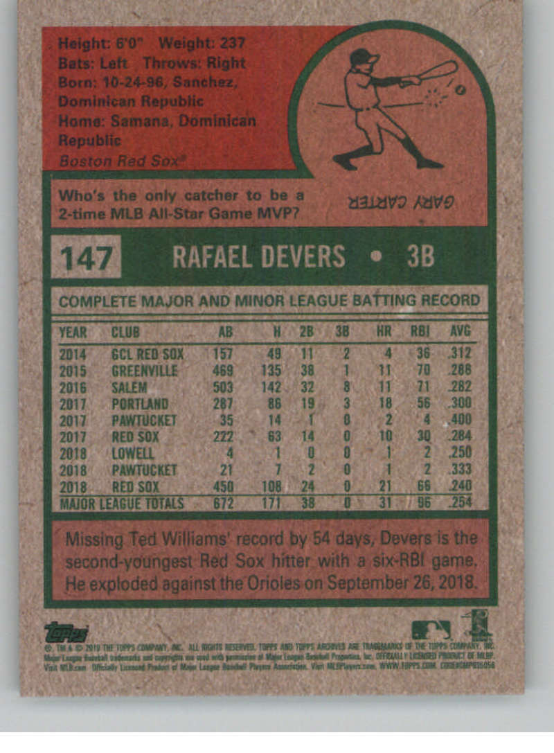 2019-Topps-Archives-Baseball-Singles-1-150-YOU-PICK-FROM-LIST miniature 293