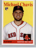 2019 Topps Archives #4 Michael Chavis NM-MT RC Rookie Boston Red Sox