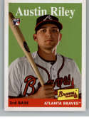 2019 Topps Archives #13 Austin Riley NM-MT RC Rookie Atlanta Braves