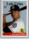 2019 Topps Archives #56 Luis Urias NM-MT RC Rookie San Diego Padres