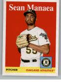 2019 Topps Archives #86 Sean Manaea NM-MT Oakland Athletics