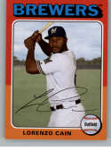 2019 Topps Archives #115 Lorenzo Cain NM-MT Milwaukee Brewers