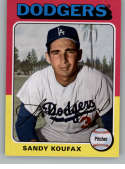 2019 Topps Archives #122 Sandy Koufax NM-MT Los Angeles Dodgers