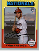 2019 Topps Archives #140 Carter Kieboom NM-MT RC Rookie Washington Nationals
