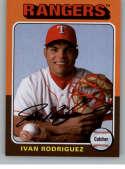 2019 Topps Archives #164 Ivan Rodriguez NM-MT Texas Rangers