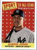 2019 Topps Archives #301 Aaron Judge  New York Yankees