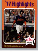 2019 Topps Archives Baseball #319 Francisco Lindor Cleveland Indians (1975 Topps Design) Official MLB Trading Card
