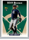 2019 Topps Archives Baseball #325 Luis Urias SP Short Print San Diego Padres (1993 Topps Design) Official MLB Trading Ca