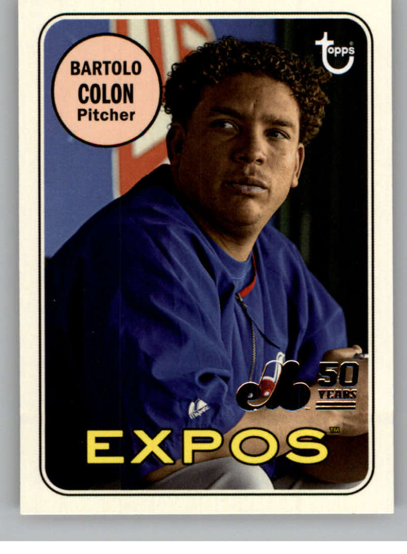 2019 Topps Archives 50th Anniversary of the Montreal Expos