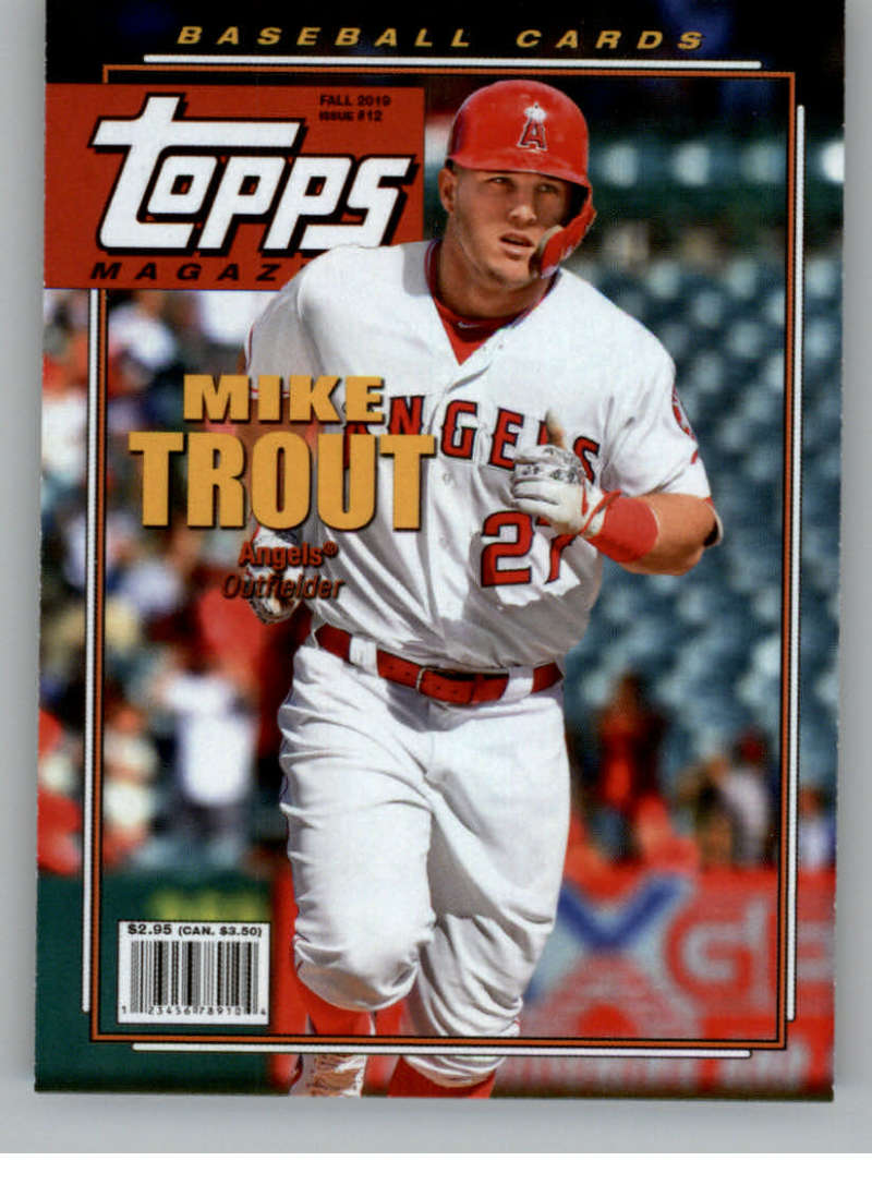 2019 Topps Archives Magazine